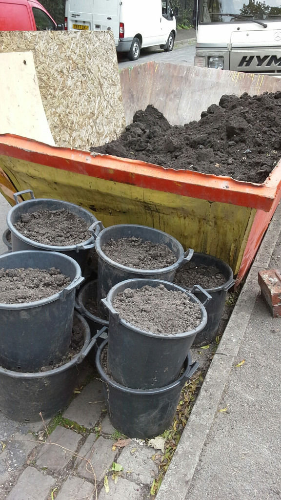Topsoil free of charge in Whalley Range Manchester