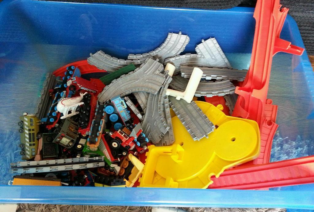 Thomas trains and tracks there is around 20 trains