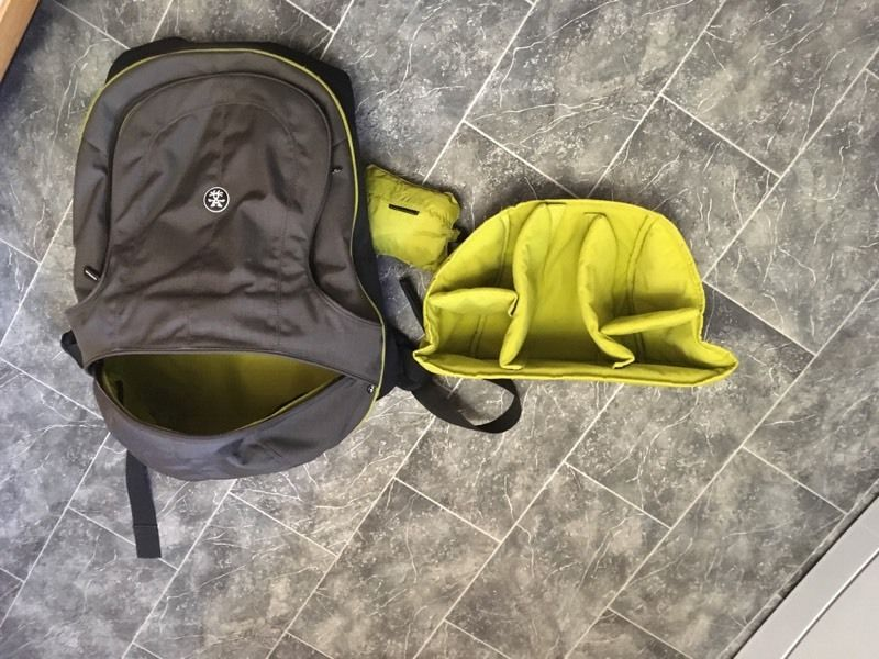 Camera , laptop and rucksack by Crumpler - The Mob Boss