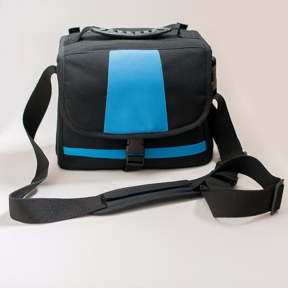 Black & Blue unbranded Padded Shoulder Camera Case