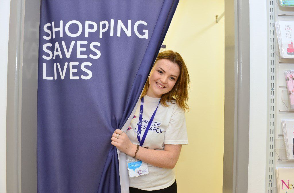Cancer Research UK Shop Volunteer – Alnwick