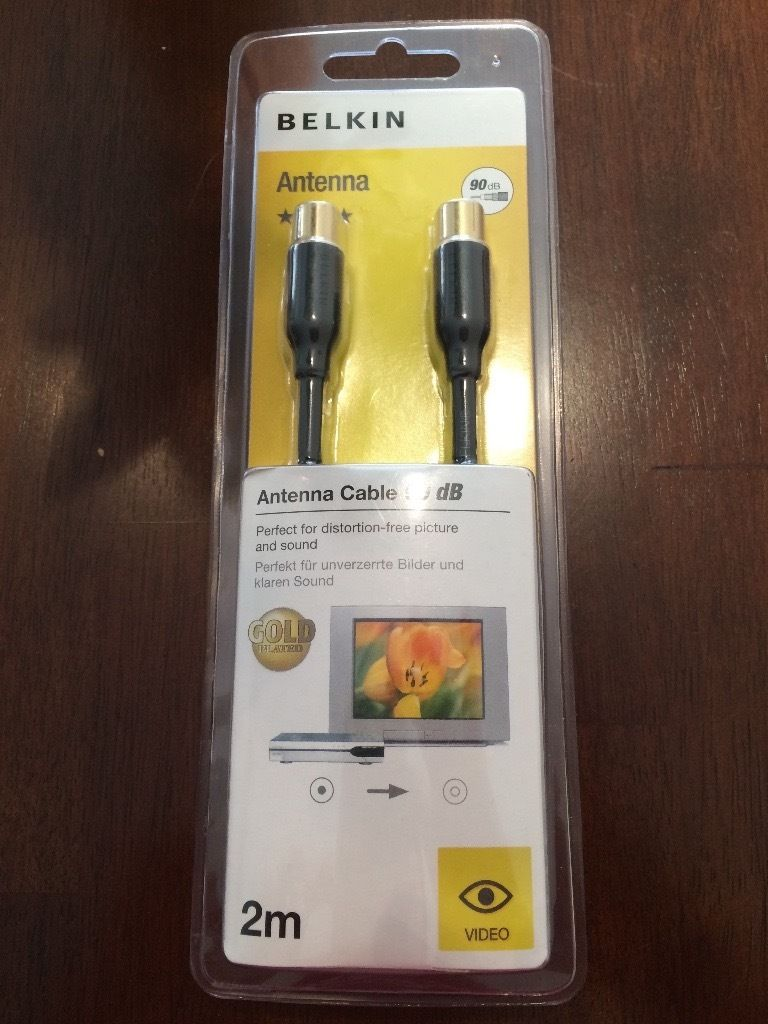 2m Belkin antenna cable