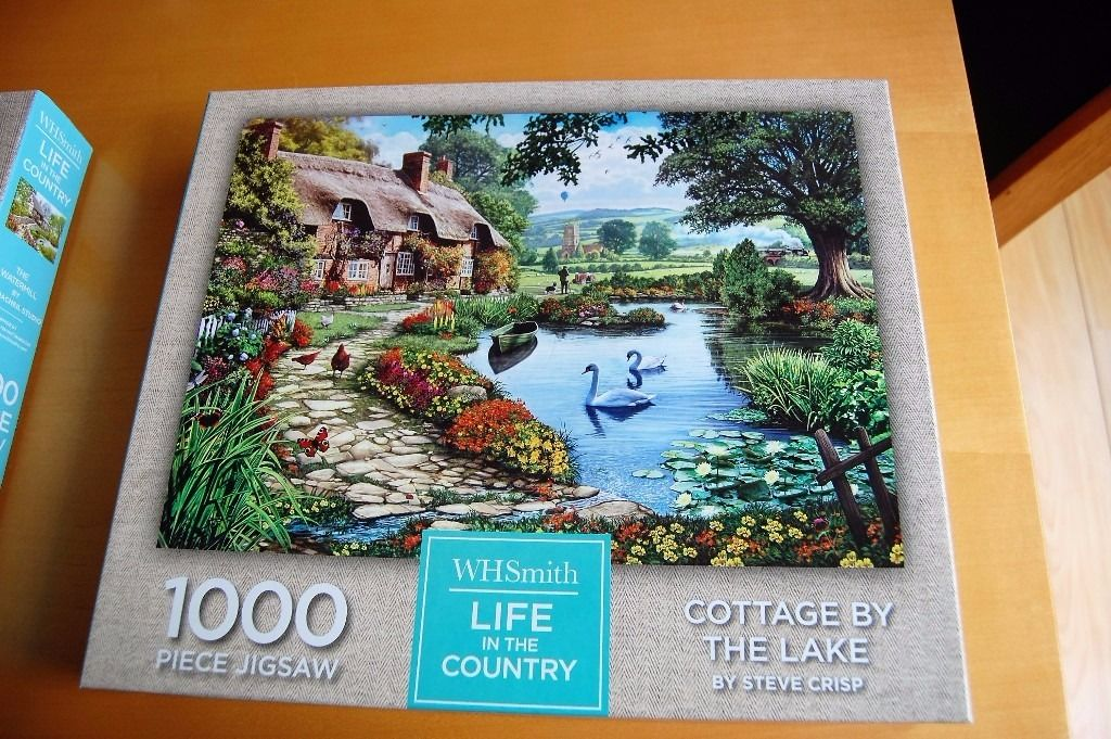 Jigsaw Puzzles for sale - 2 1000 piece puzzles.