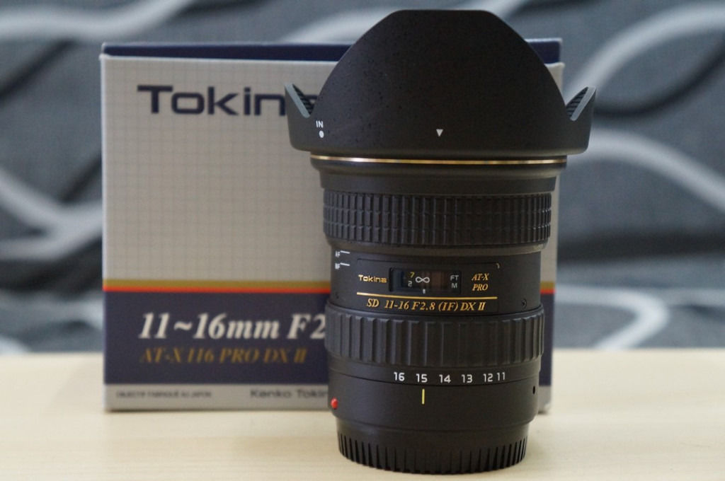 Tokina 11-16 f2.8 dxii CANON FIT