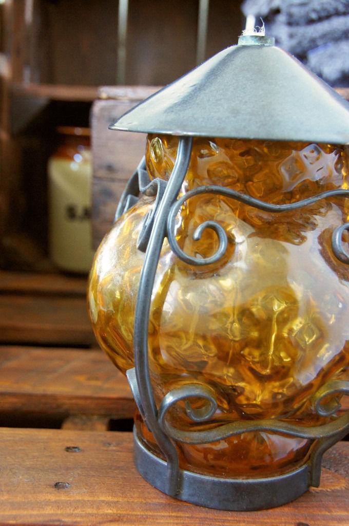 Decorative Curiosity! Old oil lamp shade? Who knows!
