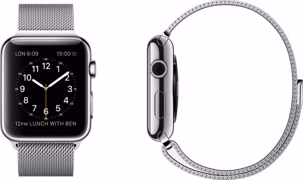 Apple Watch 42mm Milanese Loop (NOT SPORT!) with an extra Green Sport Band! RRP: 649