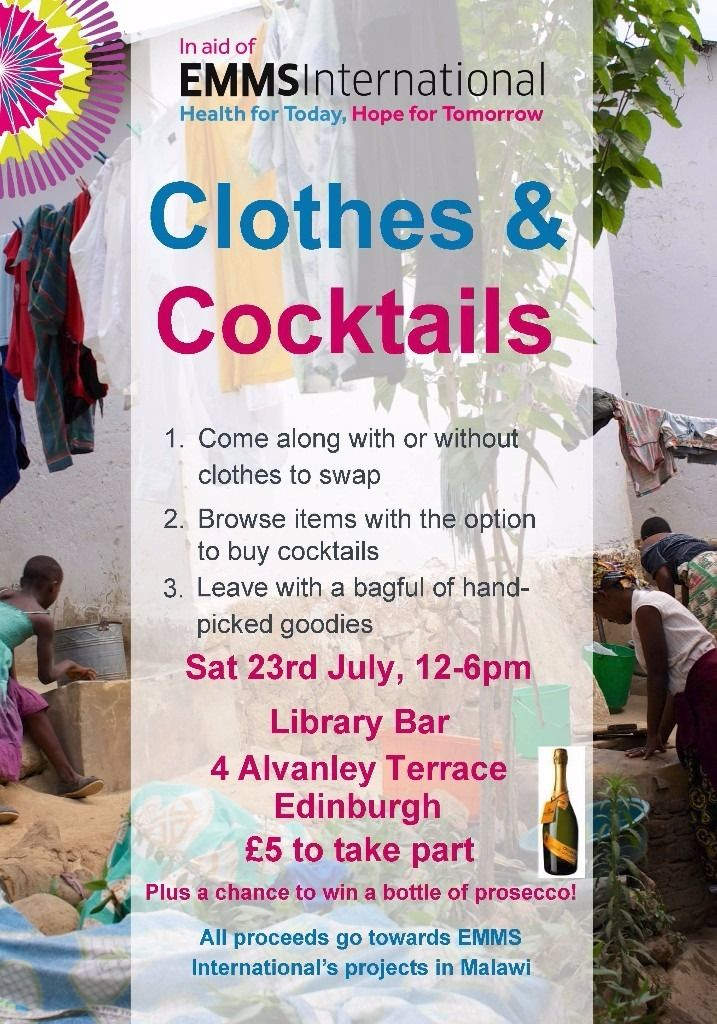 Clothes & Cocktails - Clothes swap for charity!