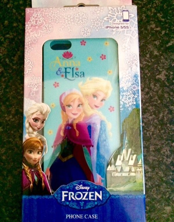 2x Disney Frozen Anna Elsa Olaf iPhone 5 5S Phone Covers