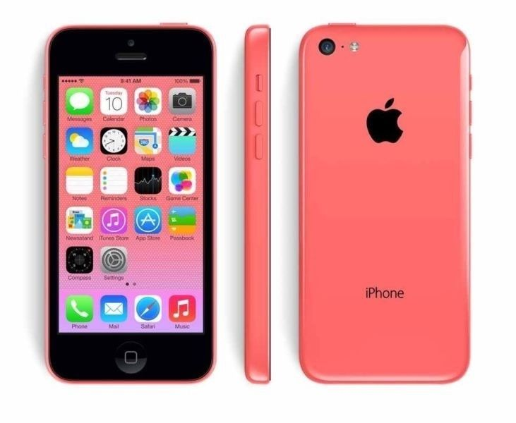Pink iPhone 5C good condition