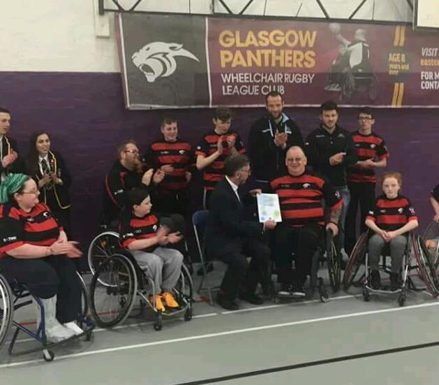 Glasgow panthers wheelchair rugby
