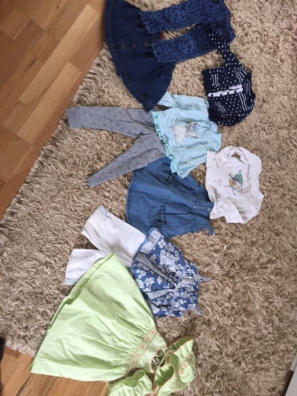 Baby girls bundle to fit 1.5 to 2 in excellent condition