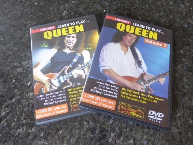 Lick Library - Learn Queen: Comprehensive DVD Set @ 50% off