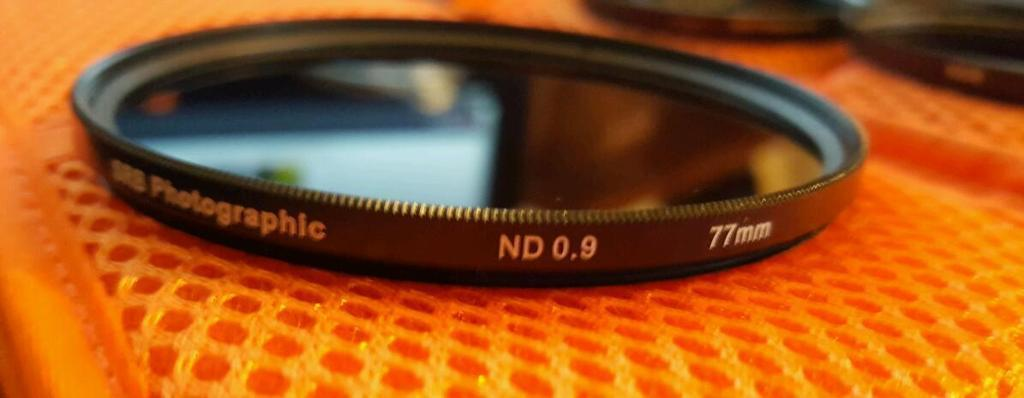 Nd 0.9 77mm screw on filter
