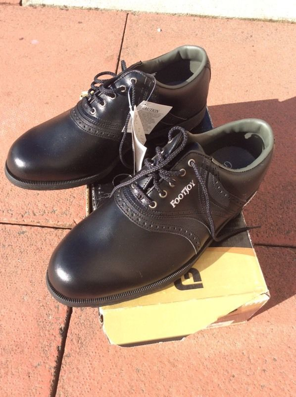 Footjoy Greenjoy black size 9 (43)