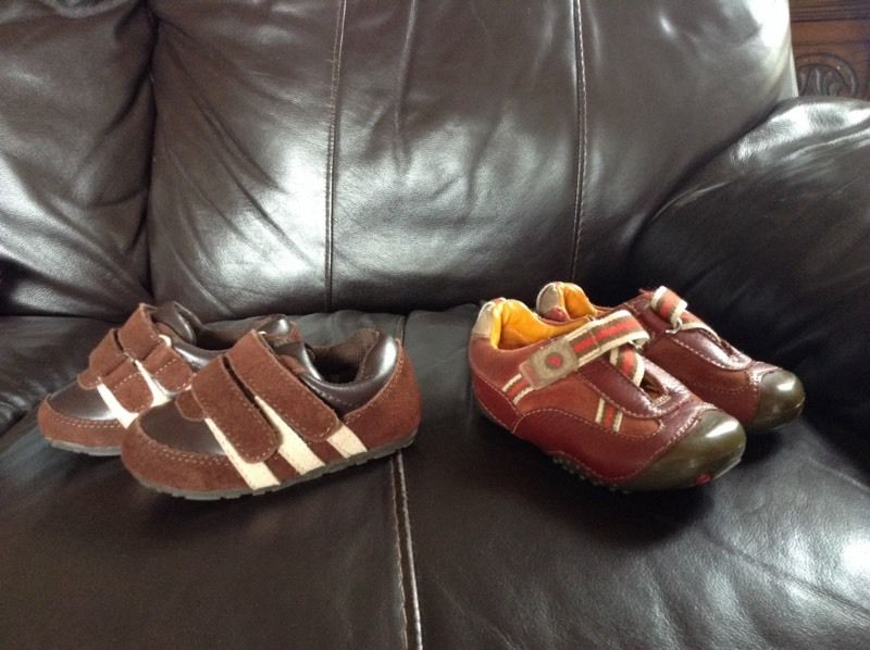 Clarks toddlers shoes