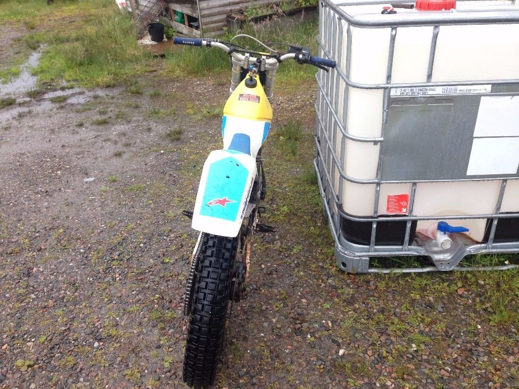 80cc fantic motors trials bike good condition also a very good light bike for beginners