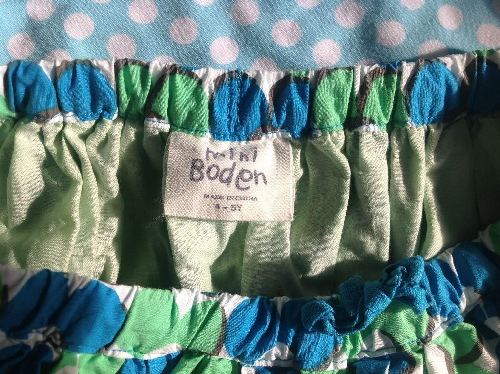 Excellent condition Boden skirt - Size 4-5
