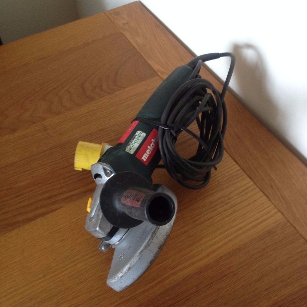 Metabo WE 14-150 Quick 110v Angle Grinder