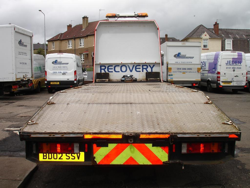 Mercedes Atego 815 Beaver Tail Recovery Truck