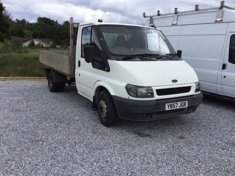 Ford transit pick up 350MWB TD