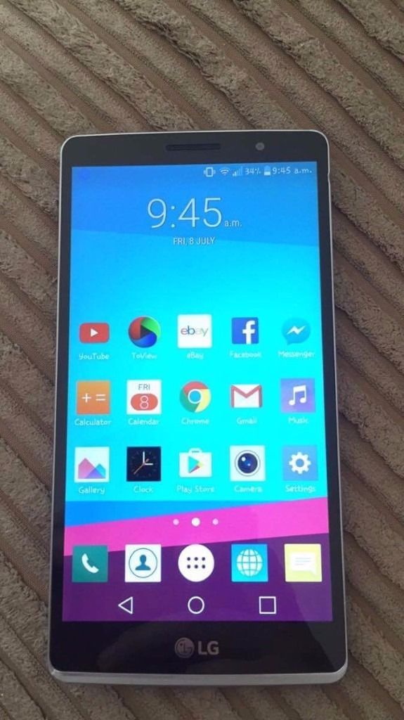 LG G4 Stylus for sale. Very good condition. Only 3 months old. Grab a bargain!!