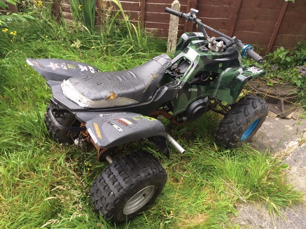 ATV90 Quad bike