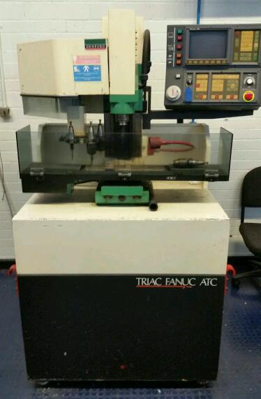 Denford Triac Fanuc ATC CNC Milling Machine with Multi tool Changer
