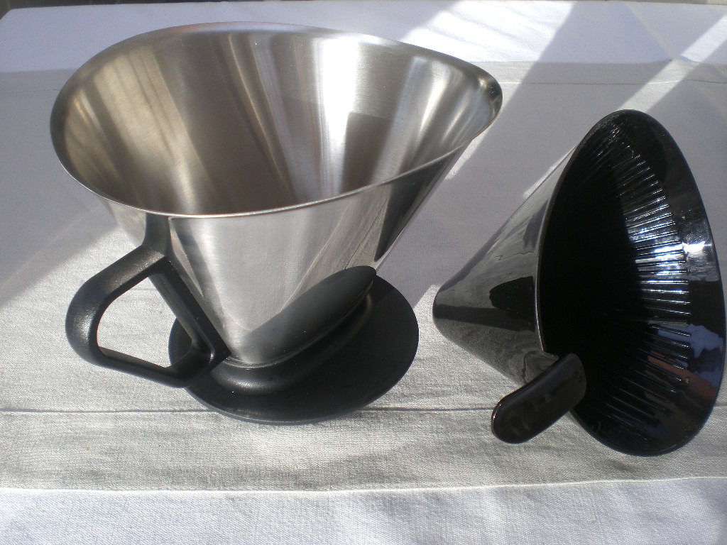 Gefu coffee filter, brilliant design for use over a jug or pot, excellent clean condition