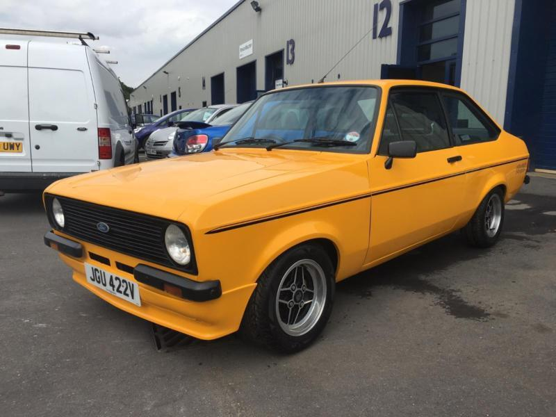 1980V Ford Escort RS CUSTOM. GARAGED FOR LAST 8 YEARS SINCE REBUILD.
