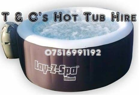 T & C's hot tub hire