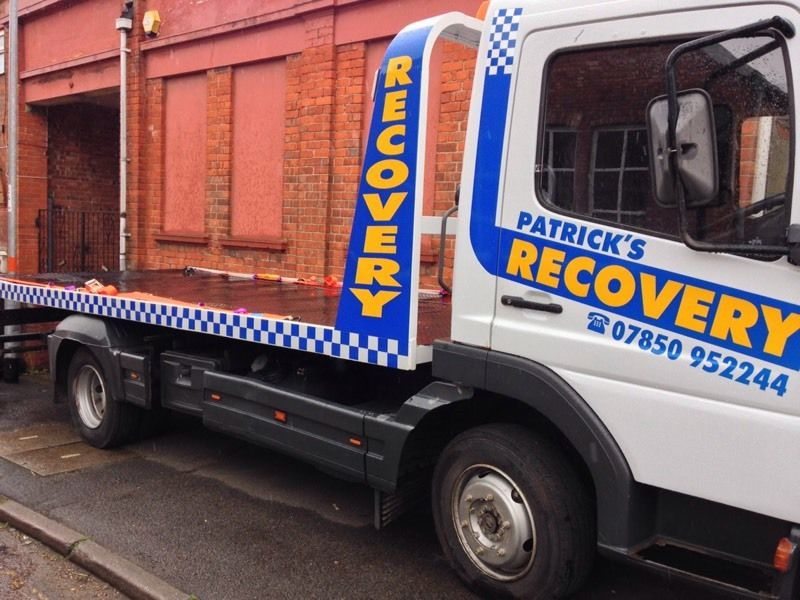 Mercedes atego 7.5 ton recovery