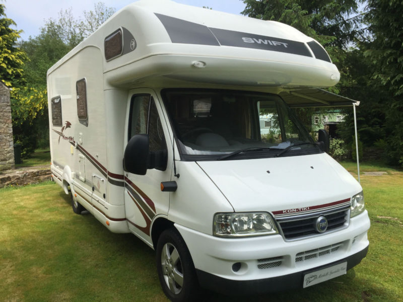 INCREDIBLE SWIFT KON TIKI 615 MOTORHOME4 BERTH 2005