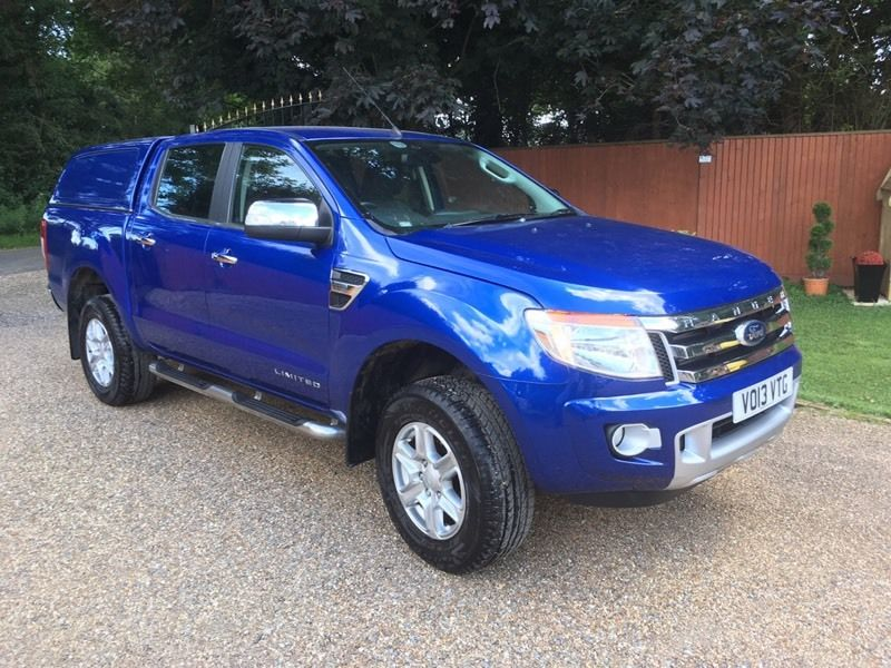 Ford ranger limited 2.2 td 6 speed 2013 13 reg