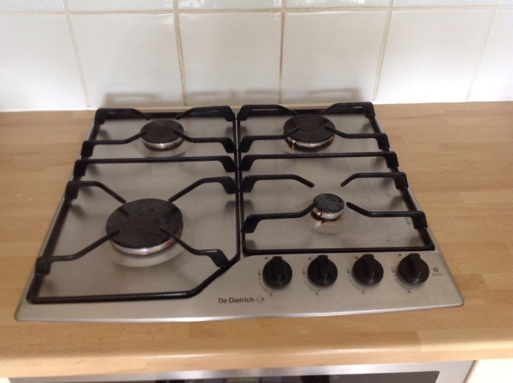 Gas hob - De Dietrich four burner hob. Good condition