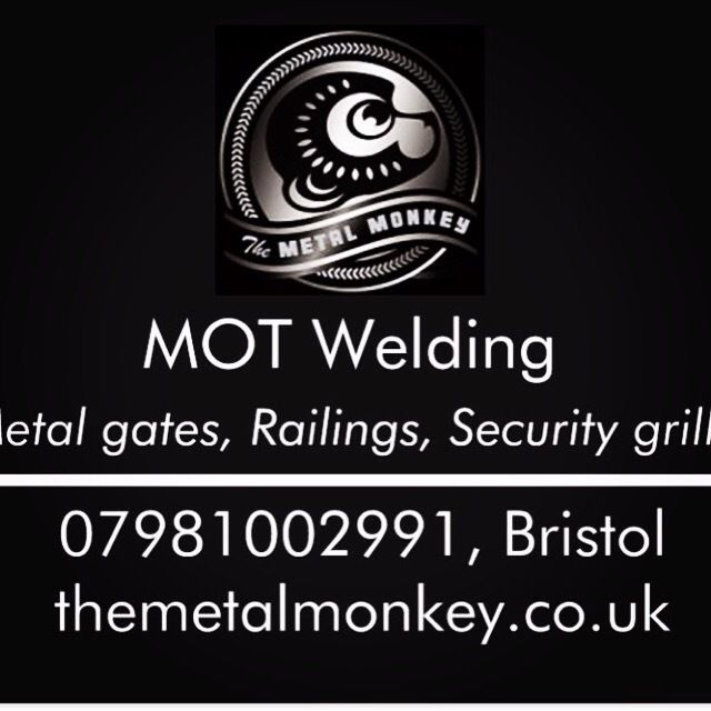 MOT welding, gates railings & security grills