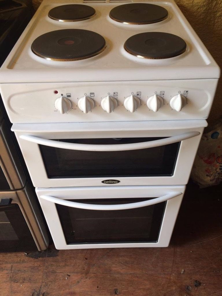 Belling White Electric Cooker