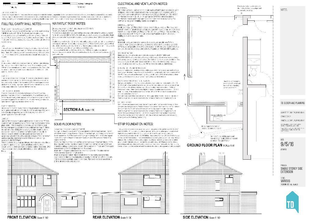 Architectural services serving the North West. Plans drawn for planning permission.