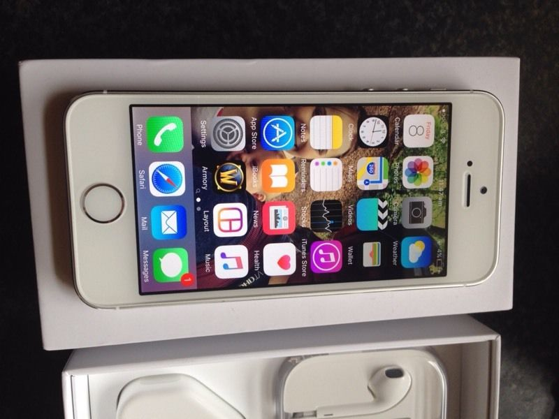 iPhone 5s, Silver 16GB