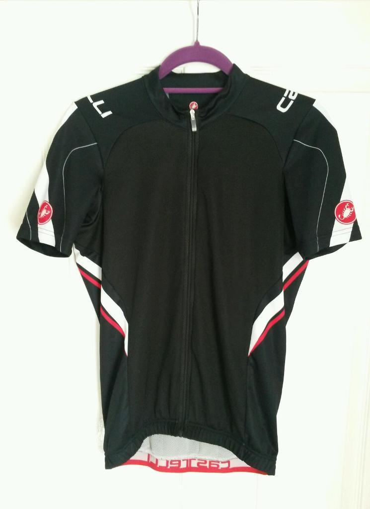 New castelli full zip cycle top ( large )