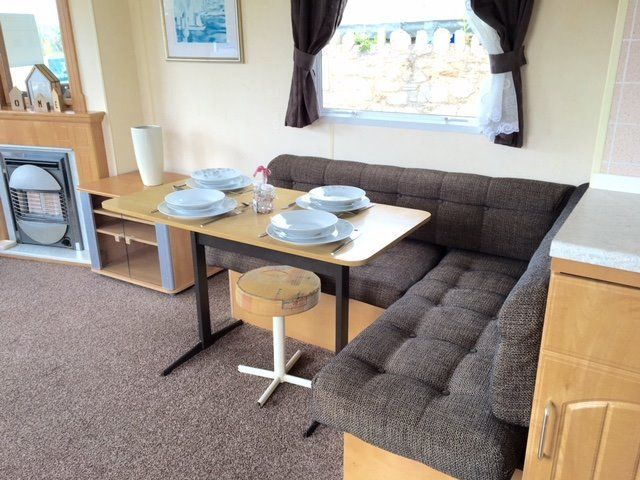 Cheap static caravan holiday home for sale north east, scottish borders, beach access, coastal park