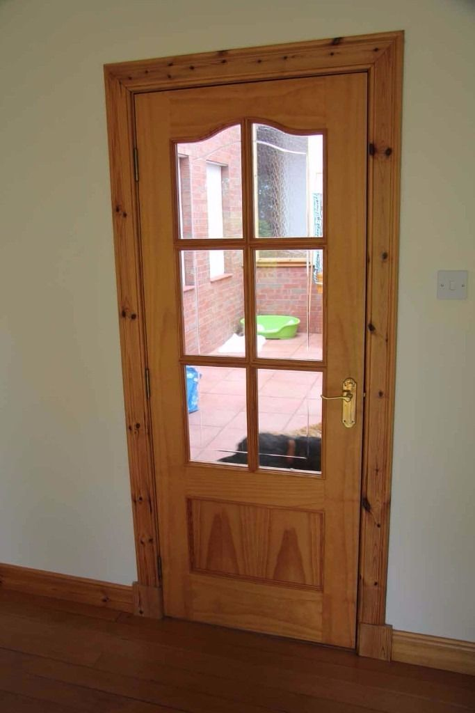 10 Pine doors - like new from house conversion