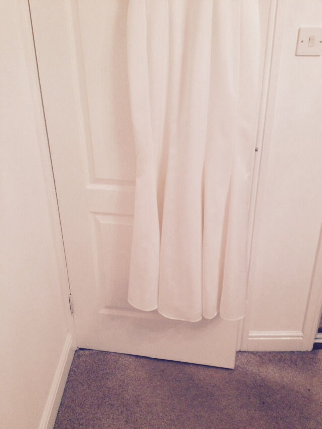 EXCELLENT CONDITION AMANDA WAKELEY ELEGANT IVORY WEDDING/EVENING/SPECIAL OCCASION DRESS SIZE 16
