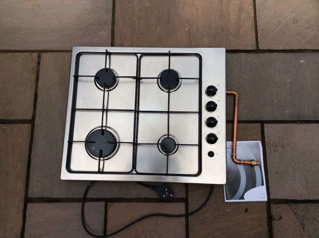 4 ring Electrolux gas hob. Good condition. Replaced with a ceramic hob.