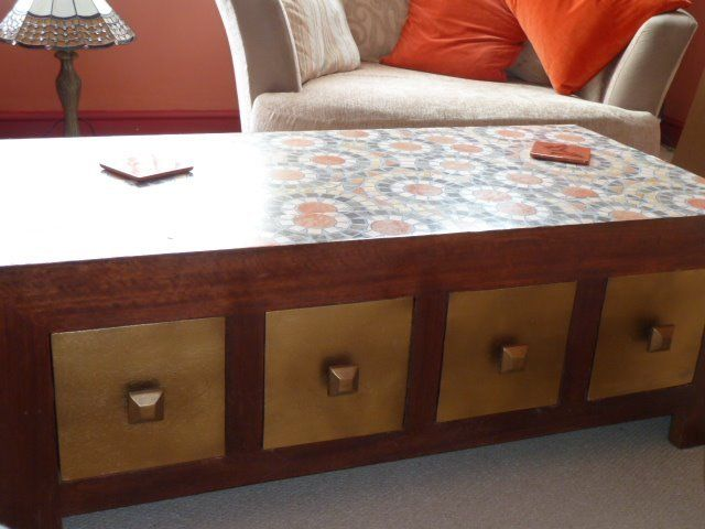 8 X Drawer Coffee Table