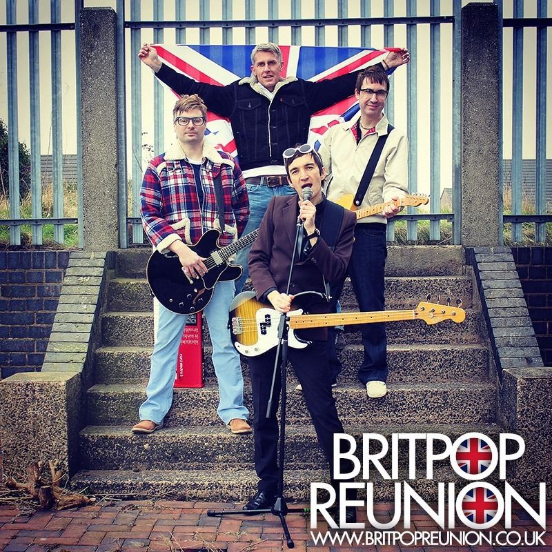 Britpop 1990s Tribute Live Party Band Available To Hire for Weddings Birthdays Parties in 2016 2017