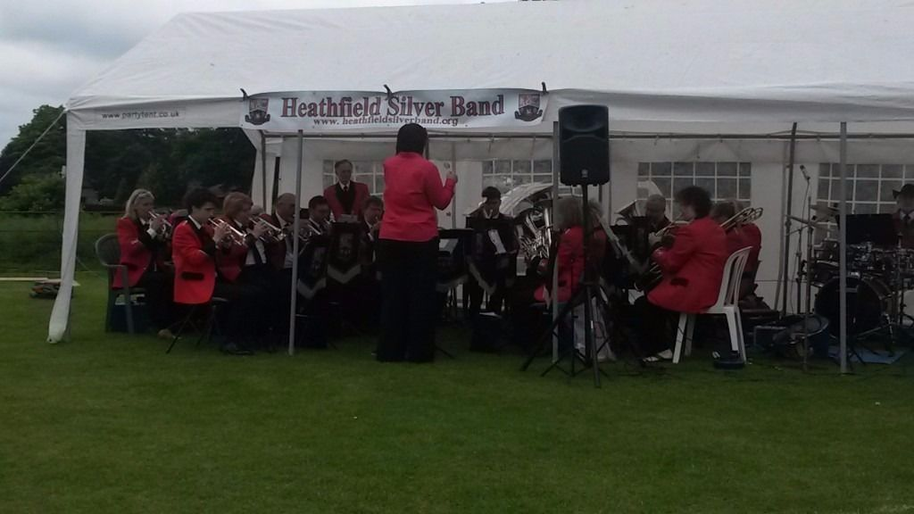 Heathfield Silver Band @ Heathfield Farmers Market Come and see the band play - have a go at playing