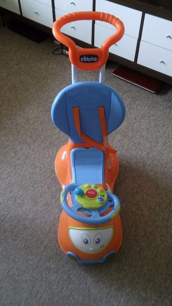 Chicco push baby ride with sounds