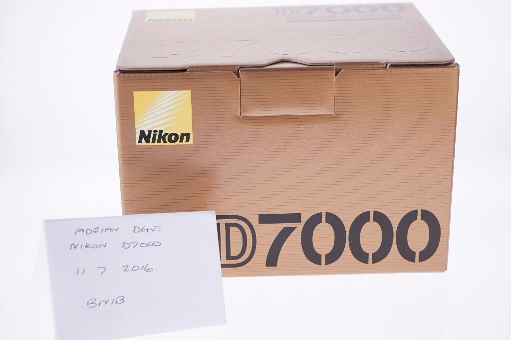 Nikon D7000 Brand new and boxed.