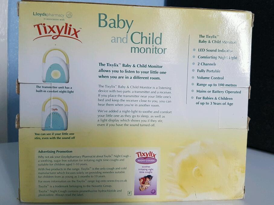 Tixylix Baby and Child Monitor