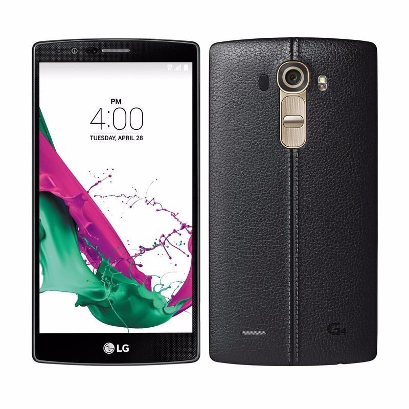 LG G4 black leather like new swap